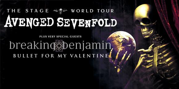 Avenged Sevenfold, Breaking Benjamin & Bullet For My Valentine at Videotron Centre
