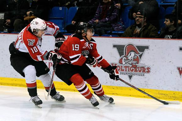 Quebec Remparts vs. Drummondville Voltigeurs at Videotron Centre