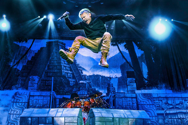 Iron Maiden at Videotron Centre