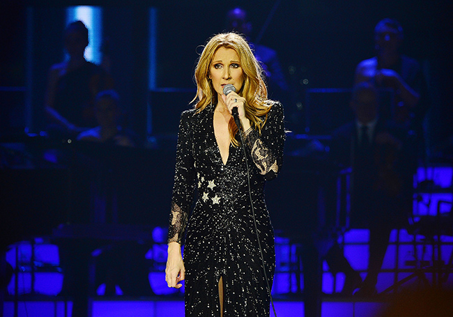 Celine Dion at Videotron Centre