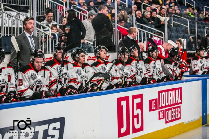 Quebec Remparts vs. Shawinigan Cataractes at Videotron Centre