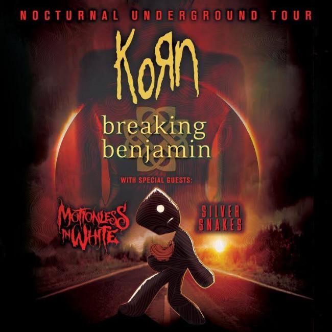 Korn & Breaking Benjamin  at Videotron Centre