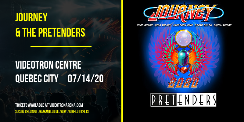Journey & The Pretenders at Videotron Centre
