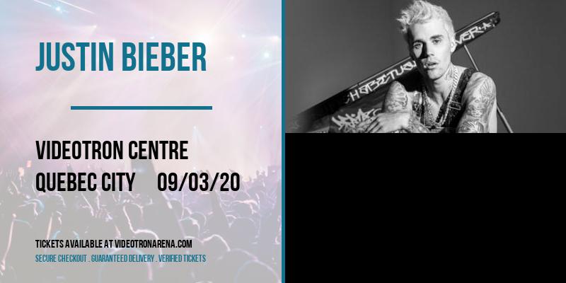 Justin Bieber [POSTPONED] at Videotron Centre