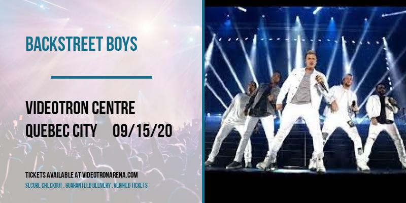 Backstreet Boys at Videotron Centre