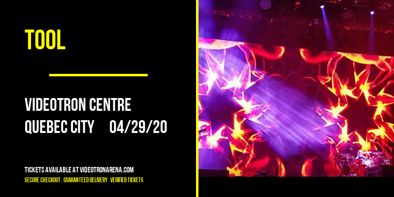 Tool [CANCELLED] at Videotron Centre