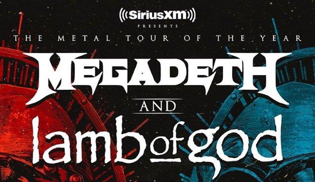 Megadeth & Lamb of God at Videotron Centre