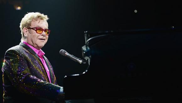 Elton John at Videotron Centre