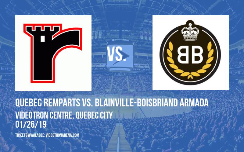 Quebec Remparts vs. Blainville-Boisbriand Armada at Videotron Centre
