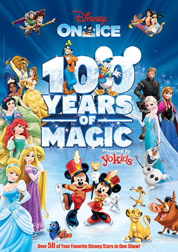 Disney On Ice: 100 Years of Magic at Videotron Centre