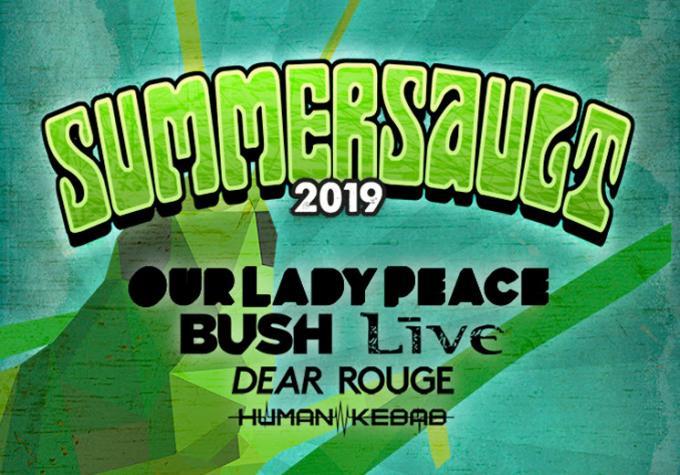 Summersault: Our Lady Peace, Bush, Dear Rouge & Human Kebab at Videotron Centre