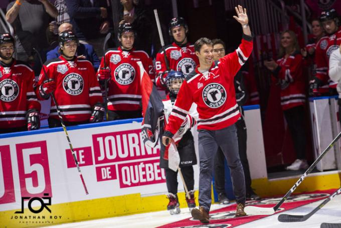 Quebec Remparts vs. Acadie-Bathurst Titan at Videotron Centre