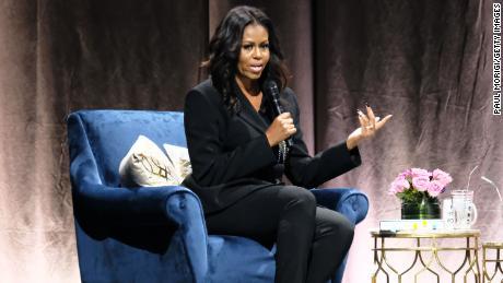 Michelle Obama at Videotron Centre