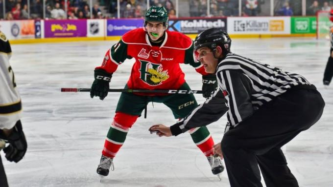 Quebec Remparts vs. Halifax Mooseheads at Videotron Centre