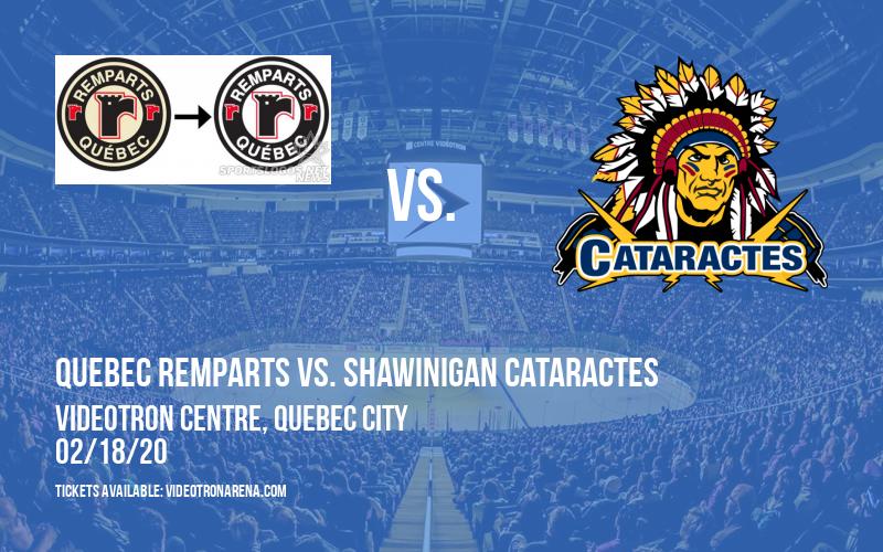 Quebec Remparts vs. Shawinigan Cataractes at Videotron Centre